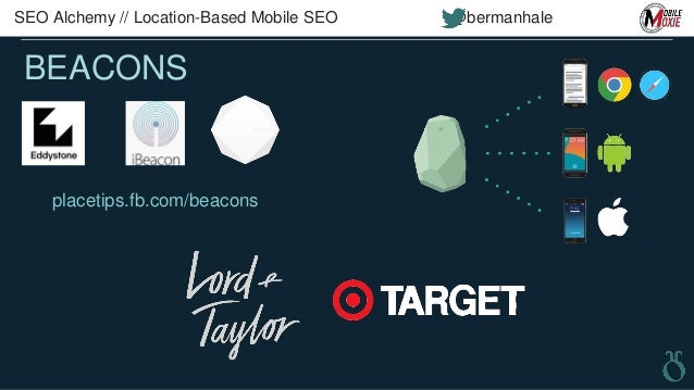 Data ConsciousAMP PWAs Instant Apps Functionality VisibilitySpeed SEO Alchemy // Location-Based Mobile SEO @bermanhale