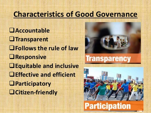 good governance and role of public With the rapid spread of information and communication technologies (icts),  new opportunities have been opened for a revival of public discourse and.