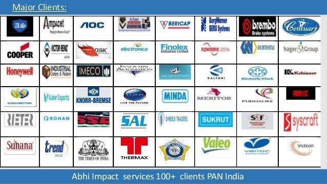 Abhi Impact Logistics Company Profile Presentation
