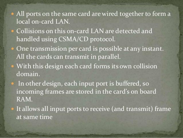  Full-Duplex operation is supported by: – 10-Base-T, 10Base-FL, 100Base-TX, 100Base-    FX, 100Base-   T2, 1000Base-CX,...