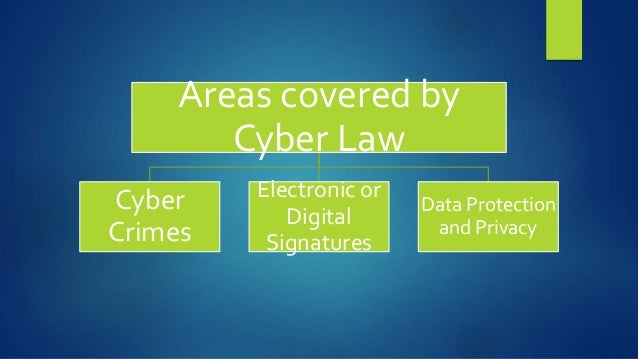 Introduction to cyber law and cyber crime.