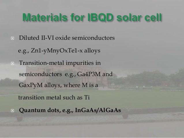    Photovoltaic devices: solar cells   Biology : biosensors, imaging   Light emitting diodes: LEDs   Quantum computati...