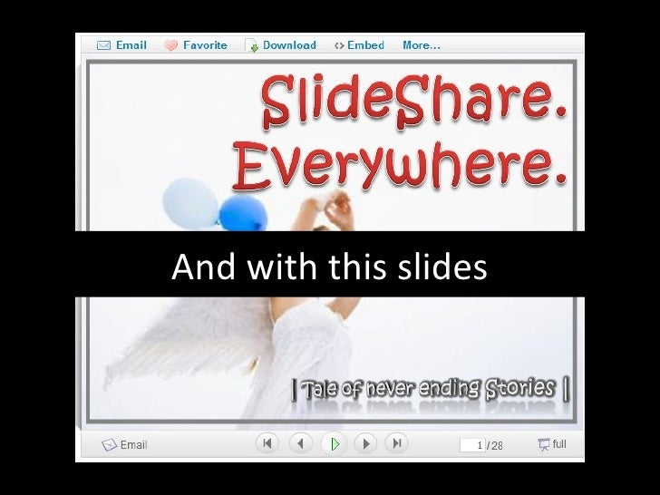 And with this slides