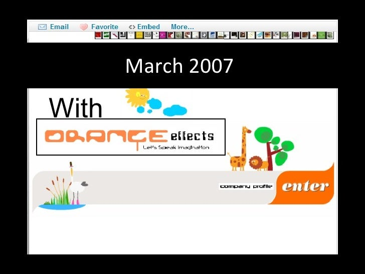 March 2007 With
