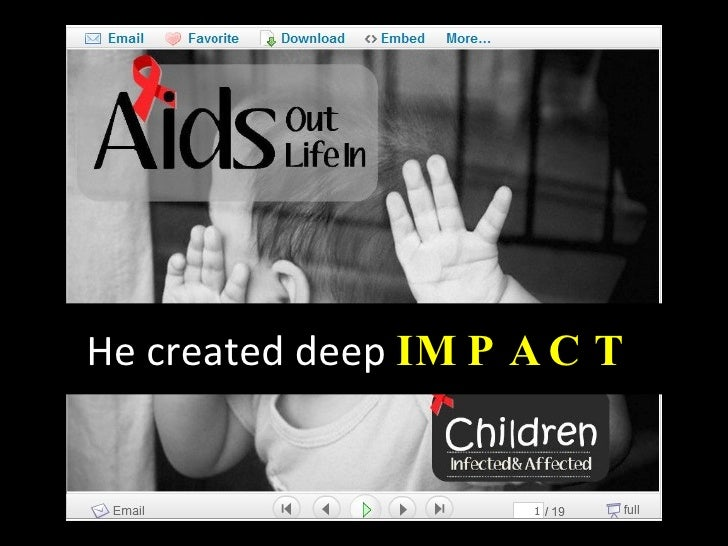 He created deep  IMPACT