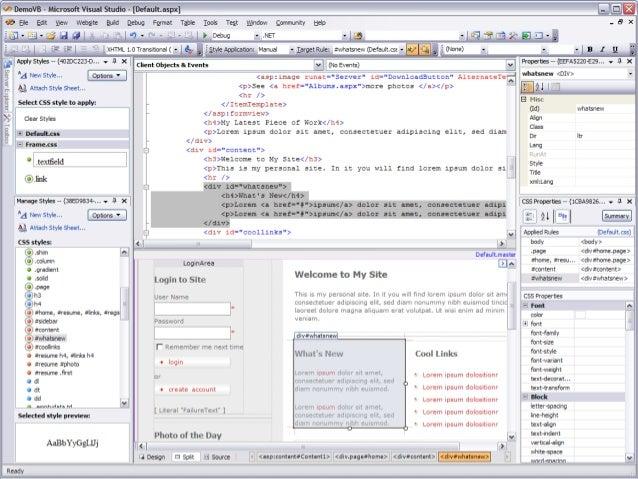.NET Platform Influential Factors .NET OOP JVM GUI Web component- based design n-tier design