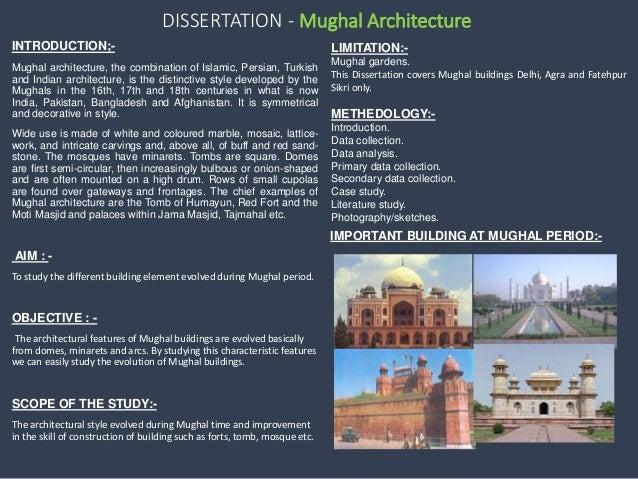 Dissertation on architecture