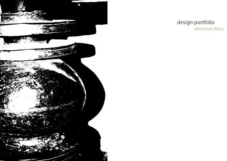 design portfolio       Abhishek Bora