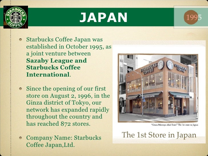 Joint venture and starbucks