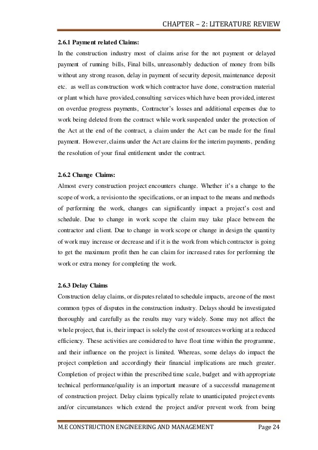 literature review of rh bill