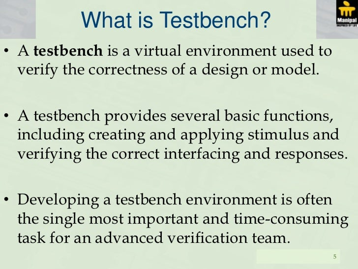 what is a test bench