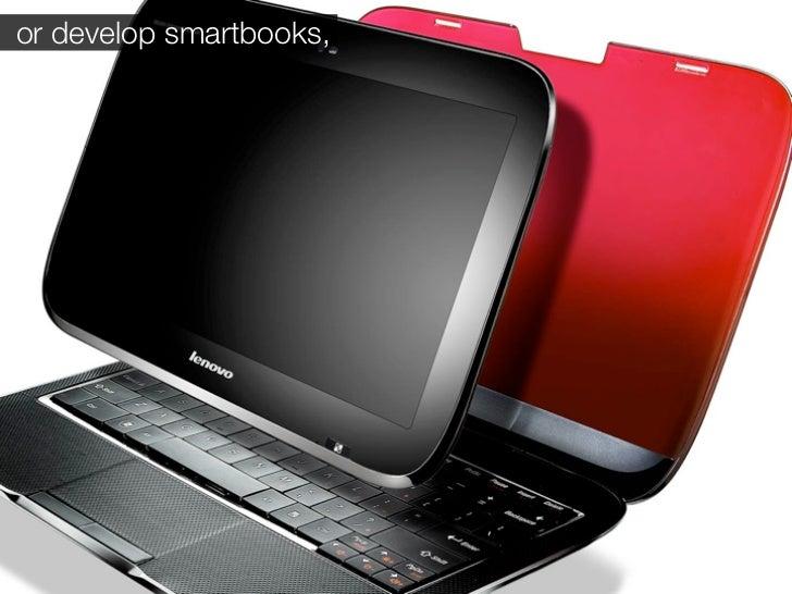 or develop smartbooks,