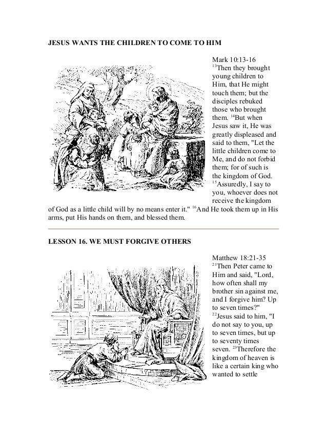 A bible study on matthew english