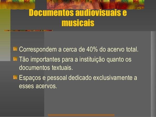 A Biblioteca da Eca e o tratamento dos documentos musicais Slide 2