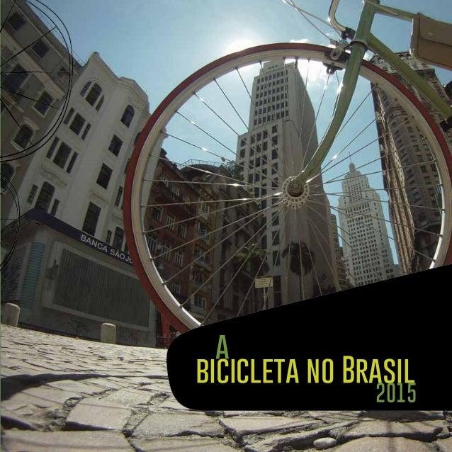 bicicleta no Brasil 2015 a