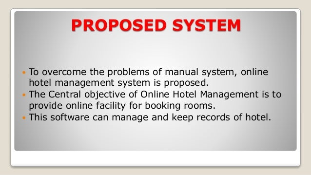 online hotel management system A leading web application online hotel reservation system let you connect with global clients by providing them the unique search and book.