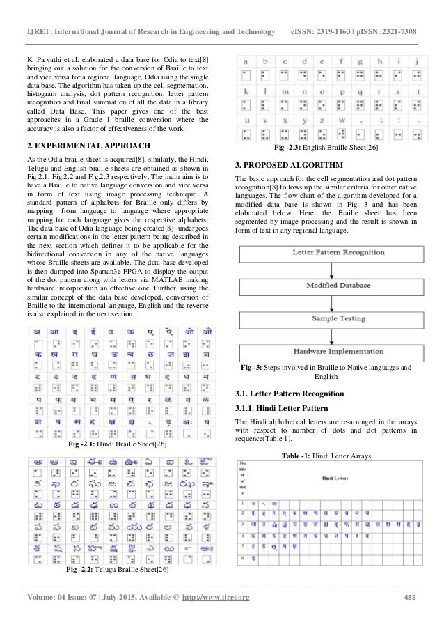 A Bidirectional Text Transcription Of Braille For Odia Hindi Telugu