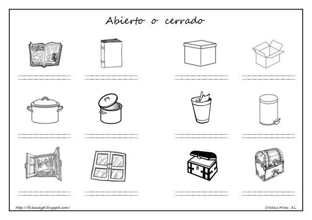 http://fichasalypt.blogspot.com/ Cristina Miras AL Abierto o cerrado