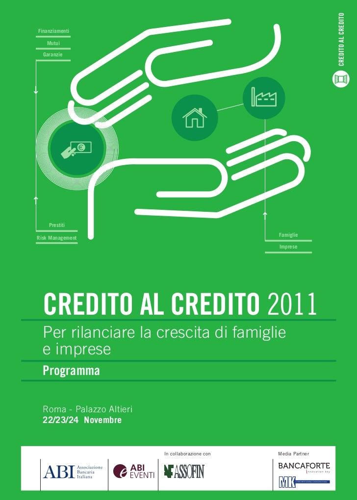 CREDITO AL CREDITOFinanziamenti   Mutui  Garanzie    Prestiti                                                   FamiglieRi...