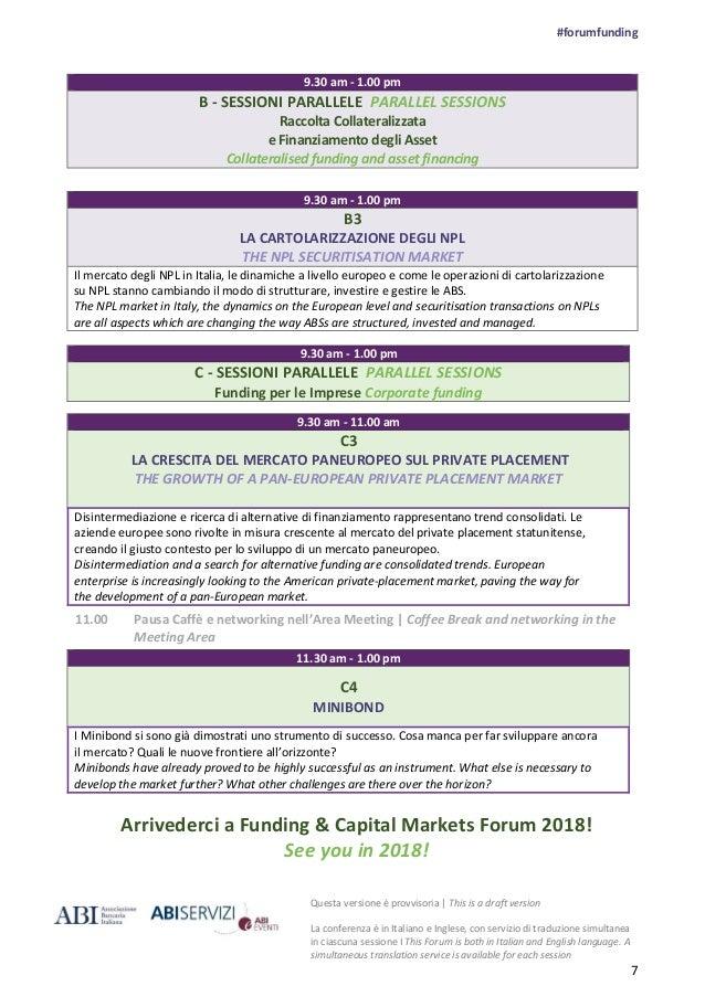 ABI Funding & Capital Markets Forum 2017
