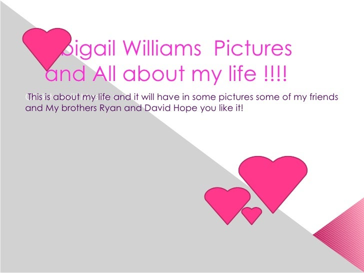 Abigail Williams Pictures     and All about my life !!!! Clickisto edit Master subtitle style This about my life and it wi...