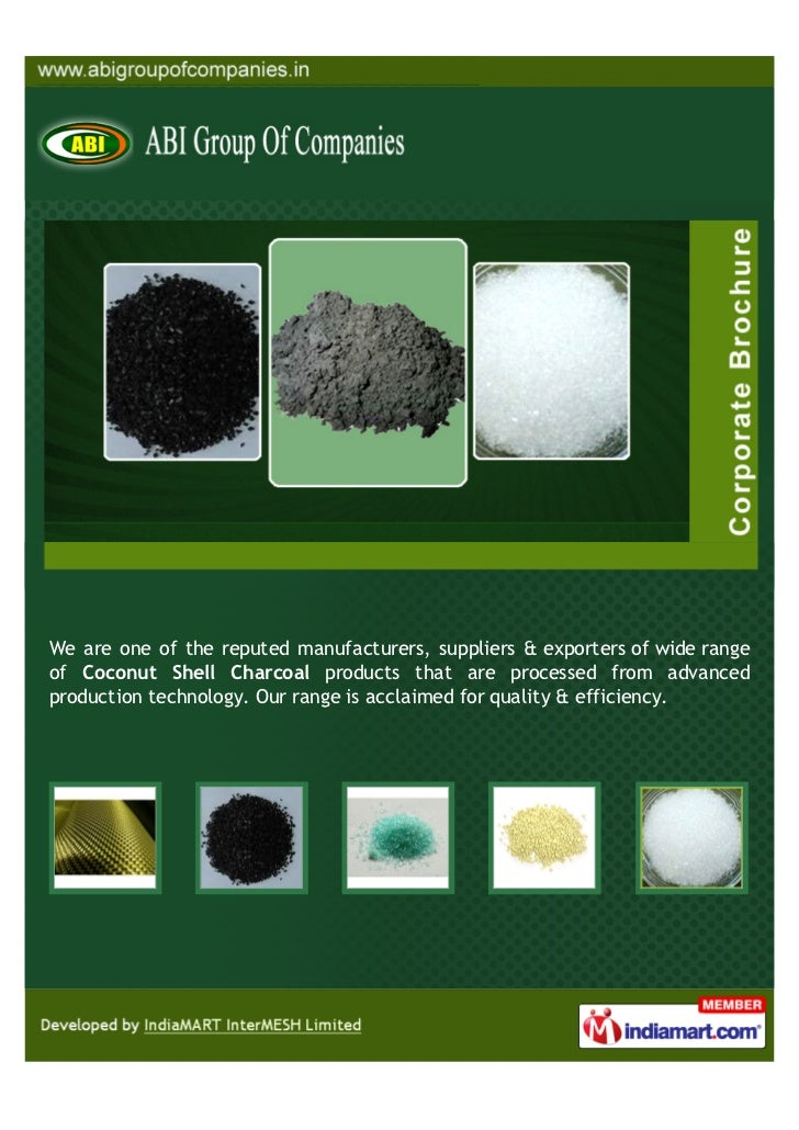 We are one of the reputed manufacturers, suppliers & exporters of wide rangeof Coconut Shell Charcoal products that are pr...