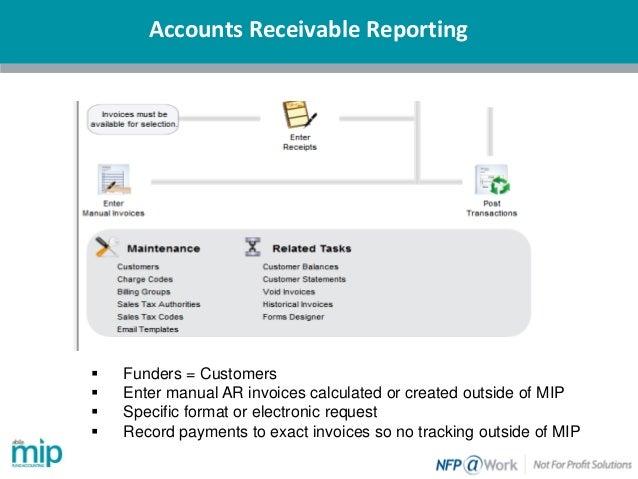 Overview Of Abila MIP Accounts Receivable Reporting And Billing - Accounts receivable invoice template