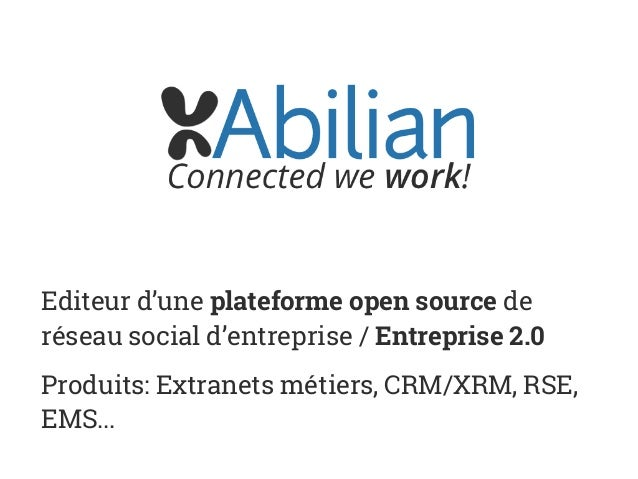 Le MOOC powered by Abilian - Plateforme open source de MOOC Slide 3