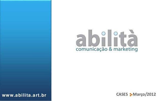 CASES Março/2012www.abilita.art.br