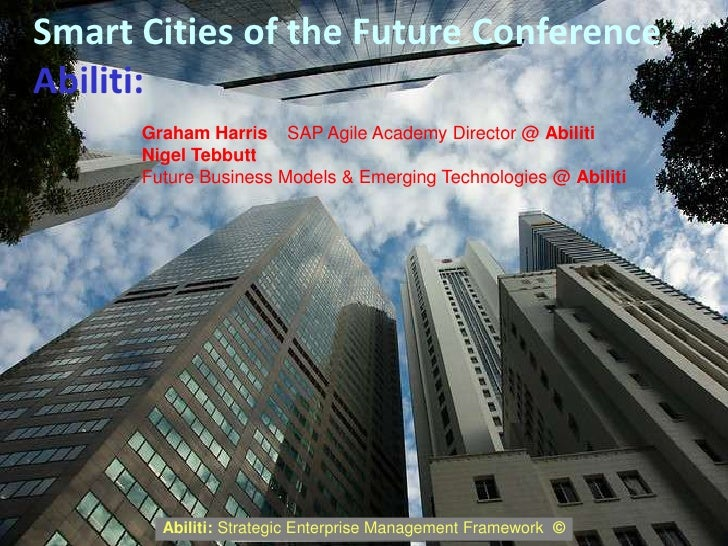 Abiliti Smart Cities Of The Future Programme 1st Contact border=
