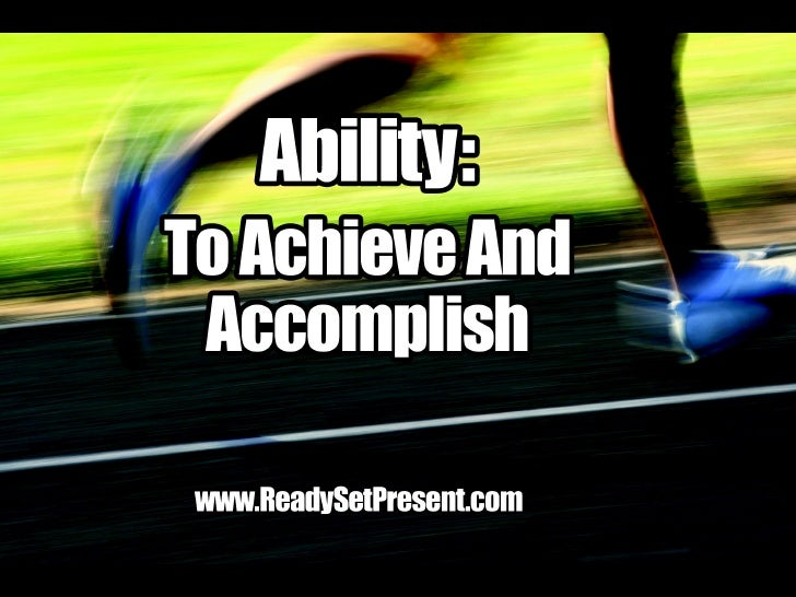 Ability Movie Ppt Version Sample
