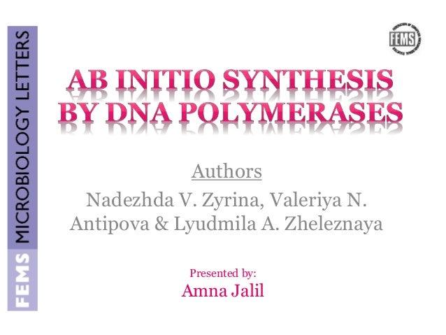 Authors  Nadezhda V. Zyrina, Valeriya N.  Antipova & Lyudmila A. Zheleznaya  Presented by:  Amna Jalil