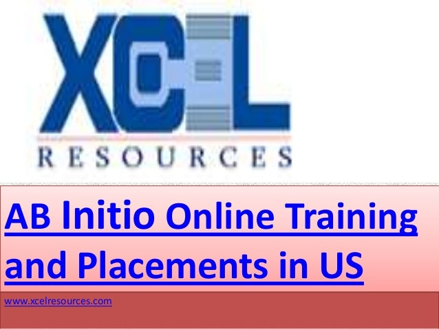 AB Initio Online Trainingand Placements in USwww.xcelresources.com