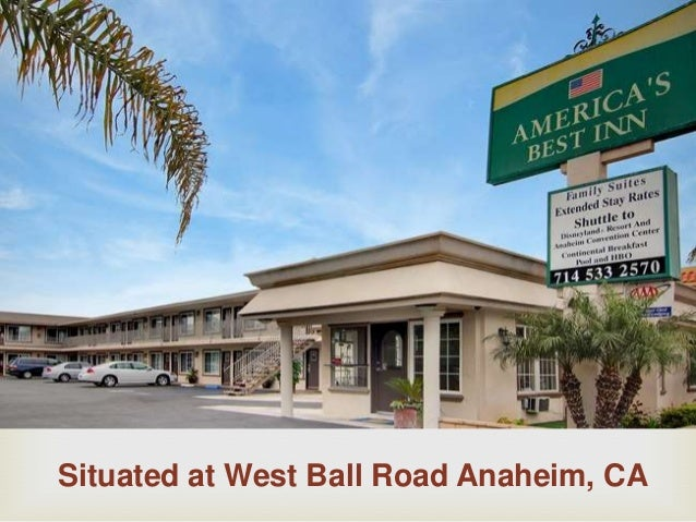 Situated at West Ball Road Anaheim, CA