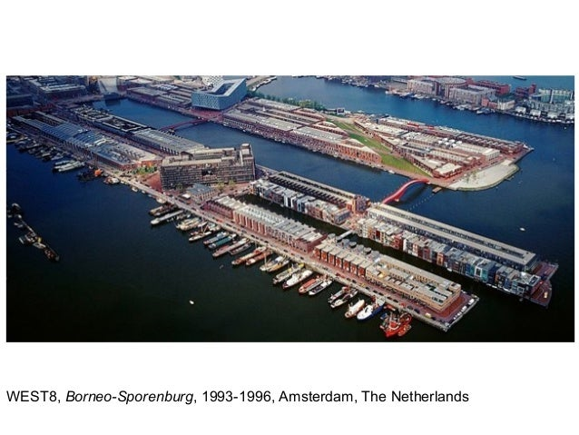 WEST8, Borneo-Sporenburg, 1993-1996, Amsterdam, The Netherlands