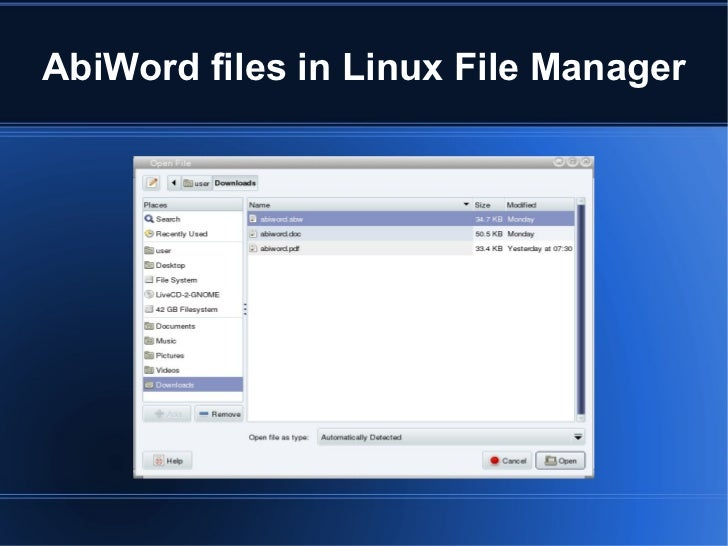 Download AbiWord 2.8.6 / 2.9.4 Dev - softpedia.com