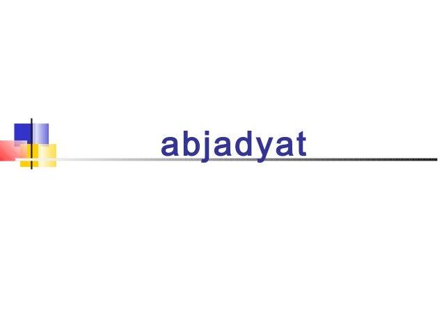 abjadyat