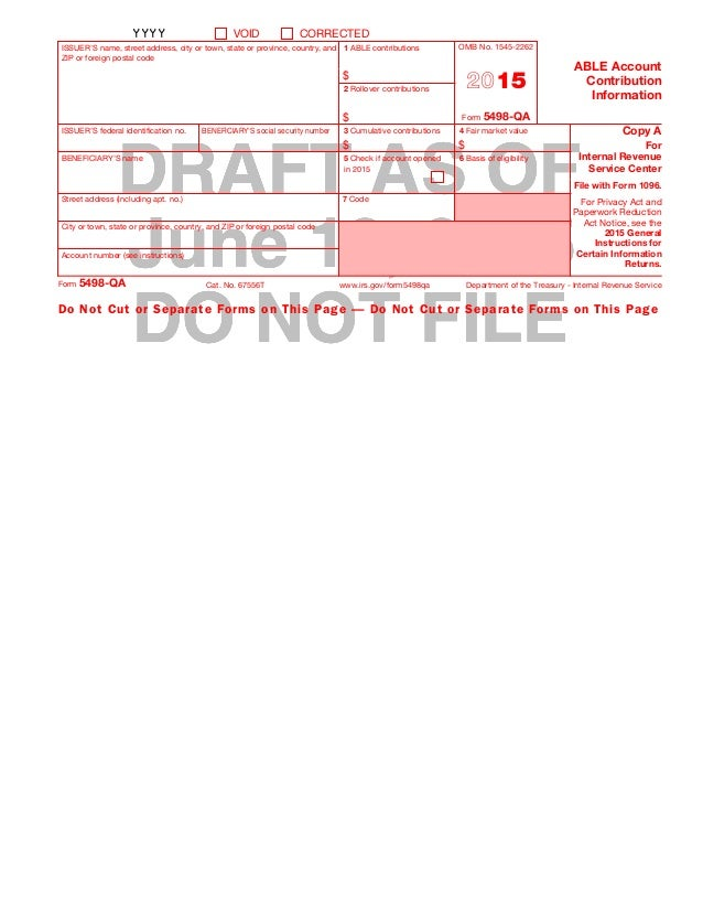 Able tax draft instructions