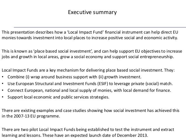 impact of european structural funds on European structural and investment funds 2014-2020 and beyond: evolution of the regulations and the implications for the financial management of the funds cohesion policy legislation and the latest developments.