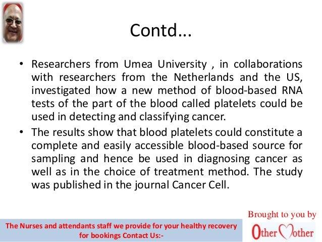 A blood test that makes cancer detection easy Slide 3