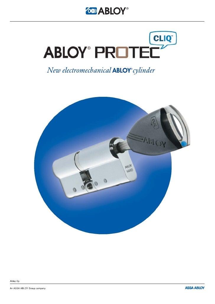 New electromechanical ABLOY cylinder                            ®