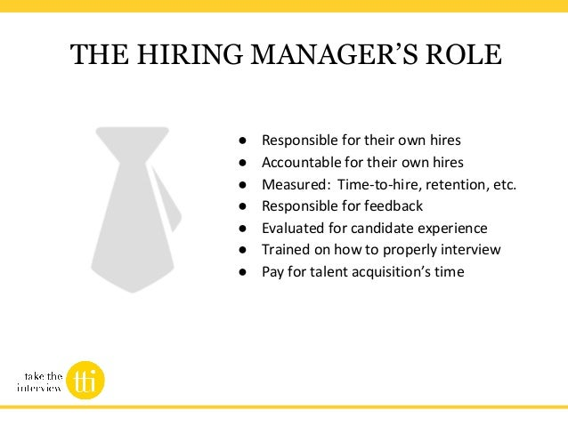 A blueprint for modern talent acquisition webinar slides the changing role of the hiring manager 20 malvernweather Images