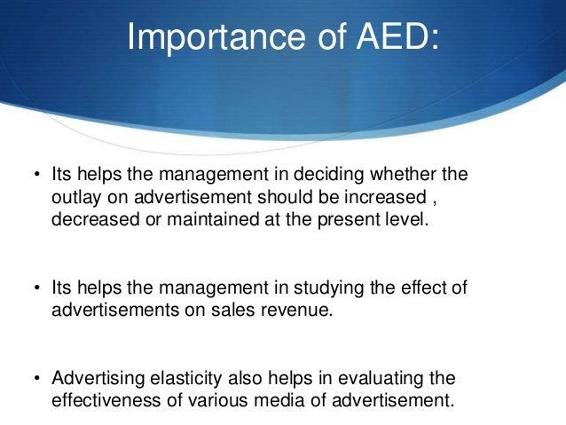 significance of elasticity of demand pdf