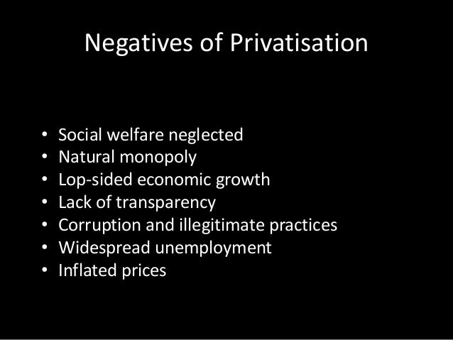privatisation of social services