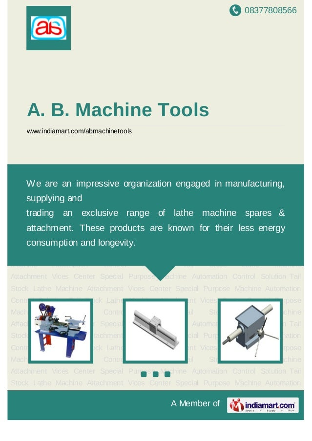 08377808566A Member ofA. B. Machine Toolswww.indiamart.com/abmachinetoolsSpecial Purpose Machine Automation Control Soluti...
