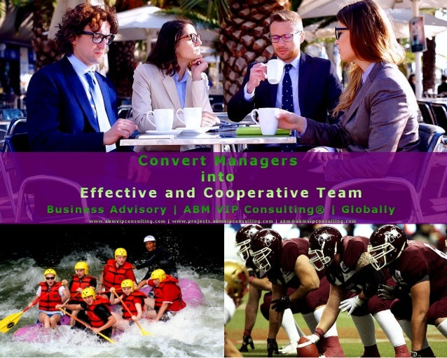 ABM VIP Consulting® Business School | Convert Managers into Team
