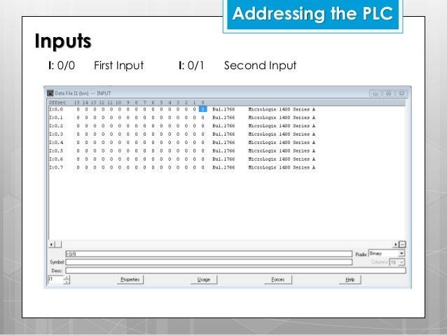 Allen Bradley Micrologix Plc Instructions