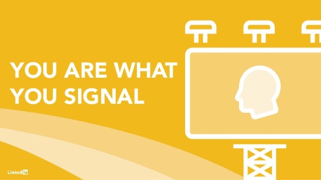 31 YOU ARE WHAT YOU SIGNAL