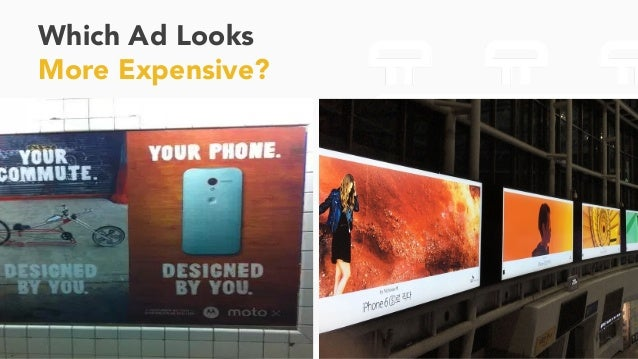 Which Ad Looks More Expensive? 32