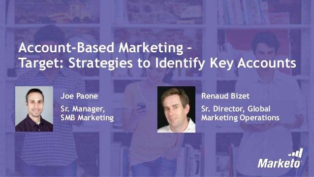 Target: Strategies to Identify Key Accounts
